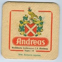 Andreas posavasos Página A