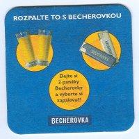 Becherovka posavasos Página B