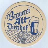 Brauerei alt posavasos Página A