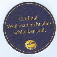 Cardinal posavasos Página B