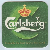 Carlsberg posavasos Página A