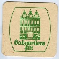 Gatsweilers Alt posavasos Página A