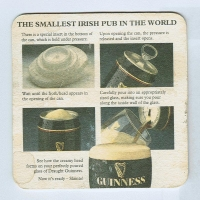 Guinness posavasos Página B