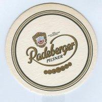 Radeberger posavasos Página A