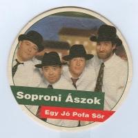 Soproni Ászok posavasos Página A