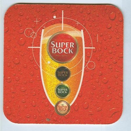 Super Bock posavasos Página A