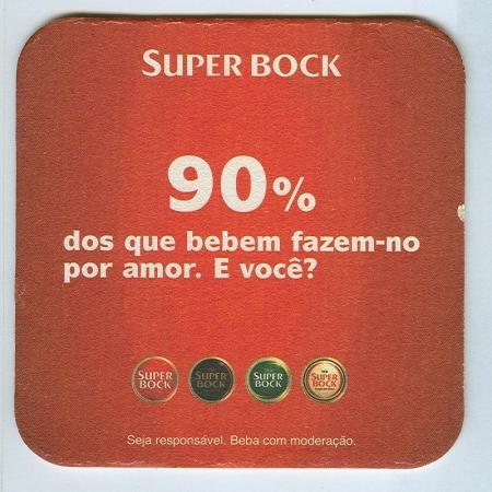 Super Bock posavasos Página B