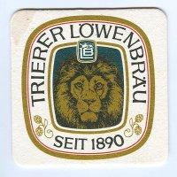 Trierer Löwenbräu posavasos Página A