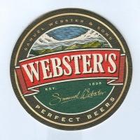 Webster's posavasos Página A