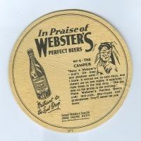 Webster's posavasos Página B