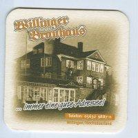 Willinger Brauhaus posavasos Página A